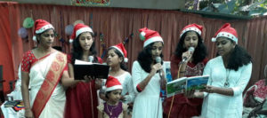 Dec 2017 - Choir during Christmas
