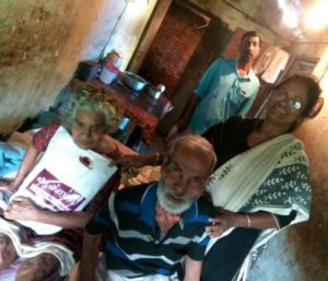 Relief materials delivered home - Aymanam