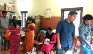 Sep 2019 - St. Thomas Mundakayam OCYM & Marthmariyam Samajam packing onakits