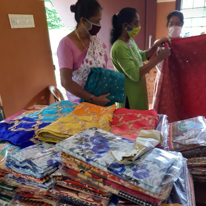 Sep 2020 - Preparing Onam Kits for Distribution