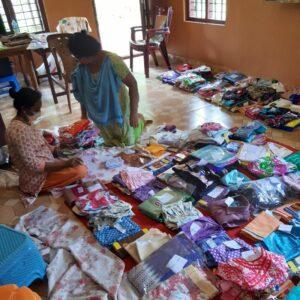 Sep 2020 - Sorting Onam Kits for Distribution